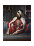 Portrait of Sultan of Ottoman Empire Selim III (1789-1807), Turkey, 18th Century Giclee Print