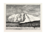 The Capture and Release of Colonel Synge: Mount Olympus from Tricovista House, Greece Wydruk giclee
