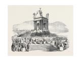 The French President's Tour: the President at Montpellier, La Danse Du Chevalet, 1852 Giclee Print