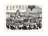 Trial of the Fenians at Manchester: the Special Commission in the Assize Courthouse Uk 1867 Giclee Print