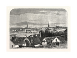 Visit of the Prince and Princess of Wales to Sweden: General View of the City of Stockholm, 1864 Giclee Print