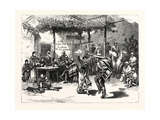 Chile: the Cueca, or National Dance; a Scene in a Roadside Inn Near Valparaiso, 1880 1881 Giclee Print