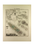 Map of India New Caledonia Tahiti Tuamotu Archipelago Marquesas Islands 1896 Giclee Print