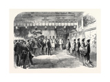 Official Reception of Sir Harry Parkes by the Tycoon of Japan at Osaka 1867 Giclee Print