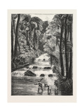 Central African Africa Exploration with Lieut. Cameron River Lukuluive 1876 Giclee Print