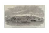 The Fleet in China under Admiral Jones Assembled Off Kintang Prior to the Occupation of Chusan Giclee Print