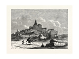 The Tomb of Jonah, Near the Mosque, on the Artificial Mound of Nebbi Yunis, Nineveh Giclee Print