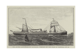The Anchor Line Steam-Ship Roumania, Wrecked Off the Coast of Portugal, 27 October Giclee Print