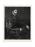 Sir Thomas Gresham, in the National Portrait Exhibition South Kensington London Uk Giclee Print