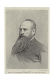 Lord Acton, the New Regius Professor of Modern History in the University of Cambridge Giclee Print