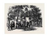 The Civil War in America: Fairfax Courthouse the Headquarters of General Beauregard Giclee Print