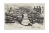 Russian Guns and Bells from Sebastopol, Just Received at Woolwich Arsenal Giclee Print