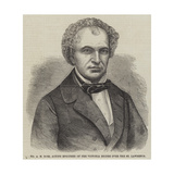 Mr a M Ross, Acting Engineer of the Victoria Bridge over the St Lawrence Giclee Print