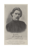 Maxim Gorky (Alexis Pyeshkov), Refused Admission to the Russian Imperial Academy Giclee Print