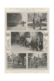 The Late President Mckinley, Scenes at Milburn House, Buffalo, During the President's Illness Giclee Print