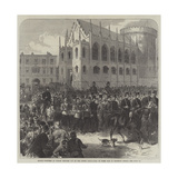 Fenian Prisoners at Dublin Brought Out of the Lower Castle-Yard on their Way to Mountjoy Prison Giclee Print