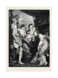 St. Jerome, after the Picture by Corregio, in the Museum at Parma, 1870 Giclee Print