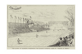 The Queen at Biarritz Witnessing the Basque National Game of Pelote Au Rebot Giclee Print