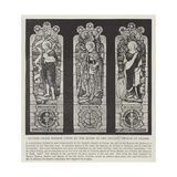 Stained-Glass Window Given by the Queen to the English Church at Grasse Giclee Print
