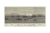 Reception of the Duchess of Edinburgh by the British Fleet at Besika Bay Giclee Print