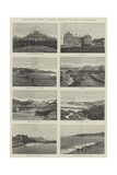 Visit of Queen Victoria to Biarritz, Sketches of the Town and Neighbourhood Giclee Print