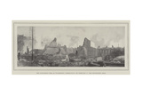 The Disastrous Fire at Waterbury, Connecticut, on 2 February, the Devastated Area Giclee Print