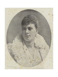 Princess Victoria Mary of Teck, the Future Wife of Hrh the Duke of Clarence and Avondale Giclee Print