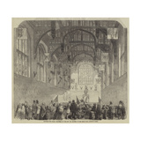 Lecture Upon Flags, Delivered by the Reverend Mr Boutell, in the Great Hall, Hampton Court Giclee Print