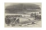 Curling Match Between the Earl of Mansfield and the Earl of Eglington, on Airthrie Loch Giclee Print