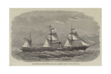 The British and North American Royal Mail Steam-Ship Russia, of the Cunard Line Giclee Print