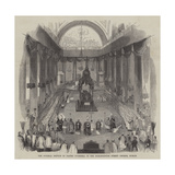 The Funeral Service of Daniel O'Connell in the Marlborough Street Church, Dublin Giclee Print