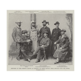 Officers of the Foreign Legion at Trieste, on their Return from Service with the Boers Giclee Print