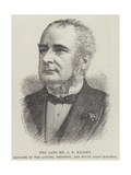 The Late Mr J P Knight, Manager of the London, Brighton, and South Coast Railway Giclee Print