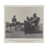 The Musical Boer, Recreation on the Veldt at a Kaffir Kraal Near Brandfort Giclee Print