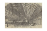 New Grand Central Railway Station, at Birmingham, Opened on Thursday, 1 June Giclée-Druck