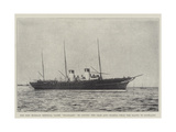 The New Russian Imperial Yacht Standart, to Convey the Czar and Czarina from the Baltic to Scotland Giclee Print