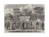 The Civil War in America, Confederate Prisoners in Camp Georgia, Roanoke Island Giclee Print