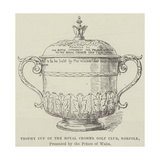 Trophy Cup of the Royal Cromer Golf Club, Norfolk, Presented by the Prince of Wales Giclee Print