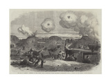 The War in America, Interior of Fort Fisher, Near Wilmington, During the Second Bombardment Giclee Print