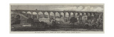 The Chapel Milton Viaduct, Rowsley and Buxton Extension, Midland Railway Giclee Print