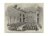 Anniversary Dinner of the Royal Freemasons' School for Female Children, Freemason's Hall Giclee Print