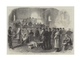 The Fenian Insurrection, Inquest on Mr Cleary in the Courthouse at Kilmallock Giclee Print