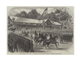 Grand Review of the Army of the Potomac before President Johnson at Washington Giclee Print