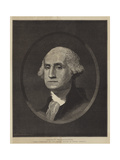 George Washington, First President of the United States of North America Giclee Print
