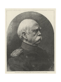 Prince Bismarck, Late Prussian Minister of Foreign Affairs, and Chancellor of the German Empire Giclee Print