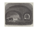 Junction of the Great Northern Railway at King'S-Cross with the Metropolitan Railway Giclee Print