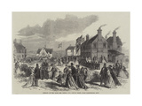 Opening of the Home for Little Boys, Horton Kirby, Near Farningham, Kent Giclee Print