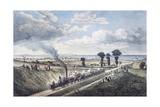 Inauguration of the Canterbury-Whitstable Line, May 3, 1830, England, United Kingdom, 19th Century Giclee Print