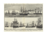 The Crisis in Egypt, the British Fleet Available to Defend Our Interests in the East Wydruk giclee