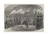 Visit of the Prince and Princess of Wales to Sweden, the Landing at Stockholm Giclee Print